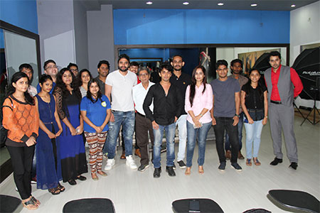 Jackky Bhagnani at the ITA School Mumbai