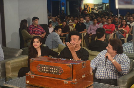 Anu Malik and Anmol Malik Visit at ITASPA Mumbai