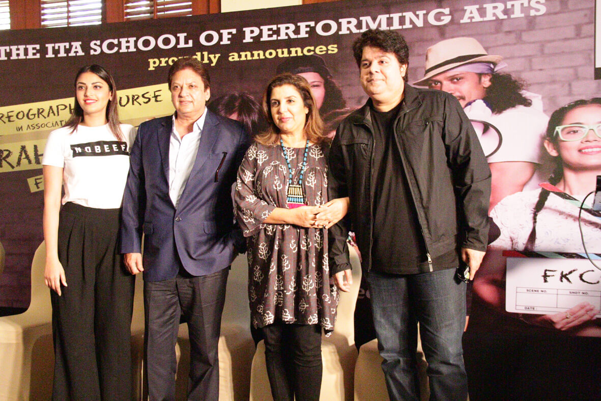 Farah Khan Choreography Course announced by Shashi Ranjan & Farah Khan