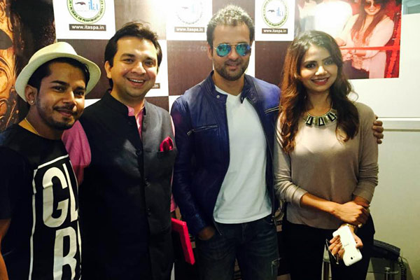 ROHIT ROY (Actor/Director) VISITED THE  ITASPA LUCKNOW Centre