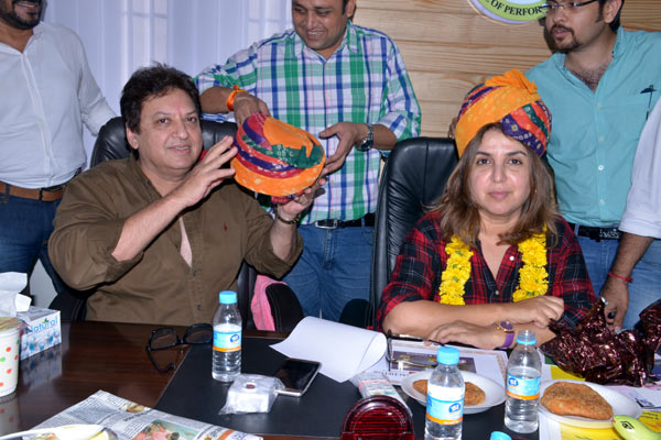 Farah Khan to train students at the ITASPA Jaipur