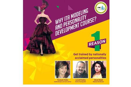 Launching Modelling & Personality Development Course at ITA School Indore
