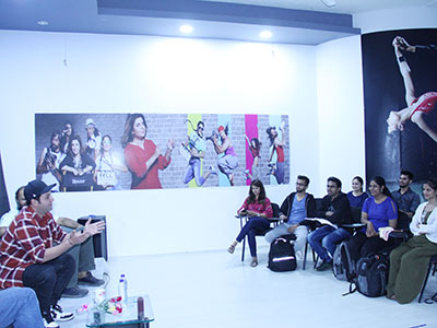 Exclusive Acting Workshop with Varun Sharma